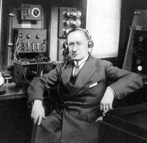 Marconi on board the Elettra